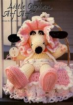 Y731 Crochet PATTERN ONLY Little Orphan Art Arf Toy Doll Dog Pattern - $7.50