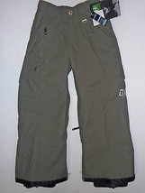 O'Neill Freedom Pants Boys Youth Ski Snowboard Waterproof Insulated Army S - $85.24