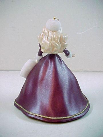 1996 Hallmark Keepsake Holiday Barbie Ornament