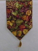 Harvest Fruit Table Runner, Beautiful! - $15.00