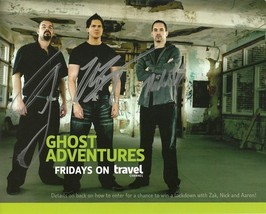 GHOST ADVENTURES CAST SIGNED POSTER PHOTO 8X10 RP AUTOGRAPHED ZAK BAGANS !! - $19.99