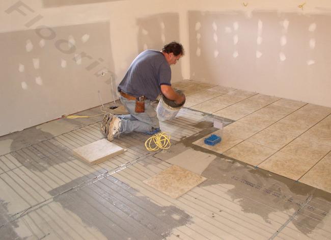 SunTouch Radiant Floor Heating WarmWire Kits  460 sq