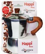Espresso Coffee Maker HAPPI KLOC 3 Cup Aluminum Cafetera - $15.83