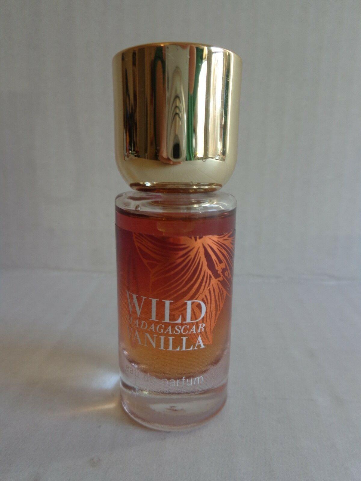 Bath & Body Works WILD MADAGASCAR VANILLA .24 Oz Eau De Parfum Spray 95% Full