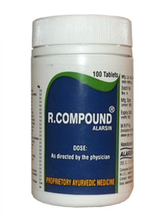 ALARSIN R COMPOUND 100 Tablets FREE SHIPPING - $5.70+