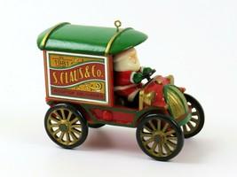 Hallmark 1981 Keepsake Ornament, S. Claus & Co Rooftop Deliveries Truck  - $14.84
