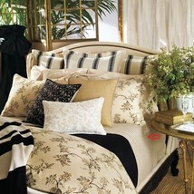 Lauren Ralph Lauren Bedding Plage D'or Stripe Queen Flat Sheet - $118.79