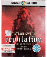 NEW DVD Taylor Swift Reputation Stadium Tour Complete Concert (2018) - $39.99