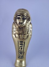 Rare ANCIENT EGYPTIAN Antique Egypt Statue of USHABTI SHABTI with Scarab Bc