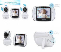 Motorola Video Baby Monitor with 2 Cameras, 3.5 Inch LCD Screen - $218.08