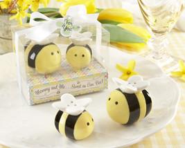 25, 50, 96 Mommy & Me Sweet as can Bee Salt & Pepper Shaker Baby Shower ... - $114.90+