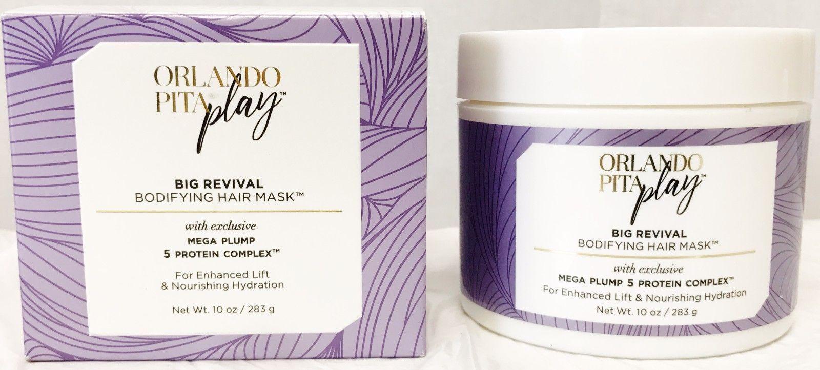 Orlando Pita Big Revival Bodifying Hair Mask Enhanced Lift & Hydration - 10 oz