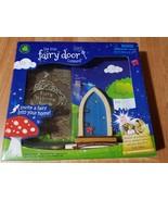 Irish Fairy Door Wooden Arched Blue Accessory Irish Fairy Door Company - $22.53