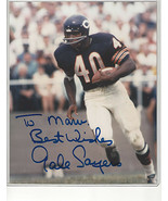 Gale Sayers Autographed Signed 8 x 10 Photo REPRINT  - $11.95