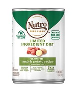 NUTRO Limited Ingredient Diet Adult Canned Natural Wet Dog Food Premium ... - $33.16
