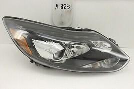 Used Ford Focus St Xenon Oem Headlight Hid 13 14 Head Light Lamp Top Mount Dmg - $247.50