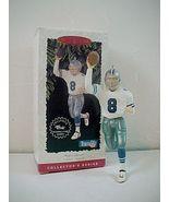 Vintage 1996 Hallmark Football Legends Troy Aikman Ornament - $4.99