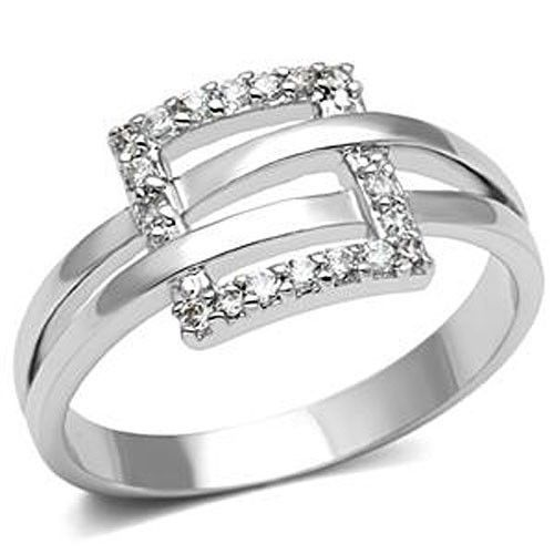 Designer Inspired Cubic Zirconia Right Hand Ring - SIZE 5, 6, 8, 9