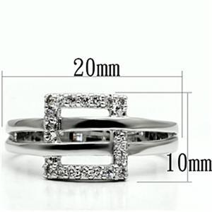 Designer Inspired Cubic Zirconia Right Hand Ring - SIZE 5, 6, 8, 9 image 3