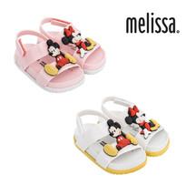 NWT MINI MELISSA Cosmic Sandal + Disney Twin Mickey Minnie Cute Pink Whi... - $60.00