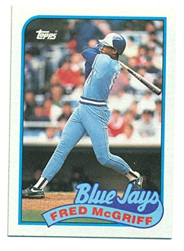 1989 Topps Fred McGriff Lot of 5 Mint Cards #745 Toronto Blue Jays - Baseball Ca