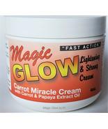 Magic Glow Miracle Skin Lightening Carrot Cream 4oz - $39.88