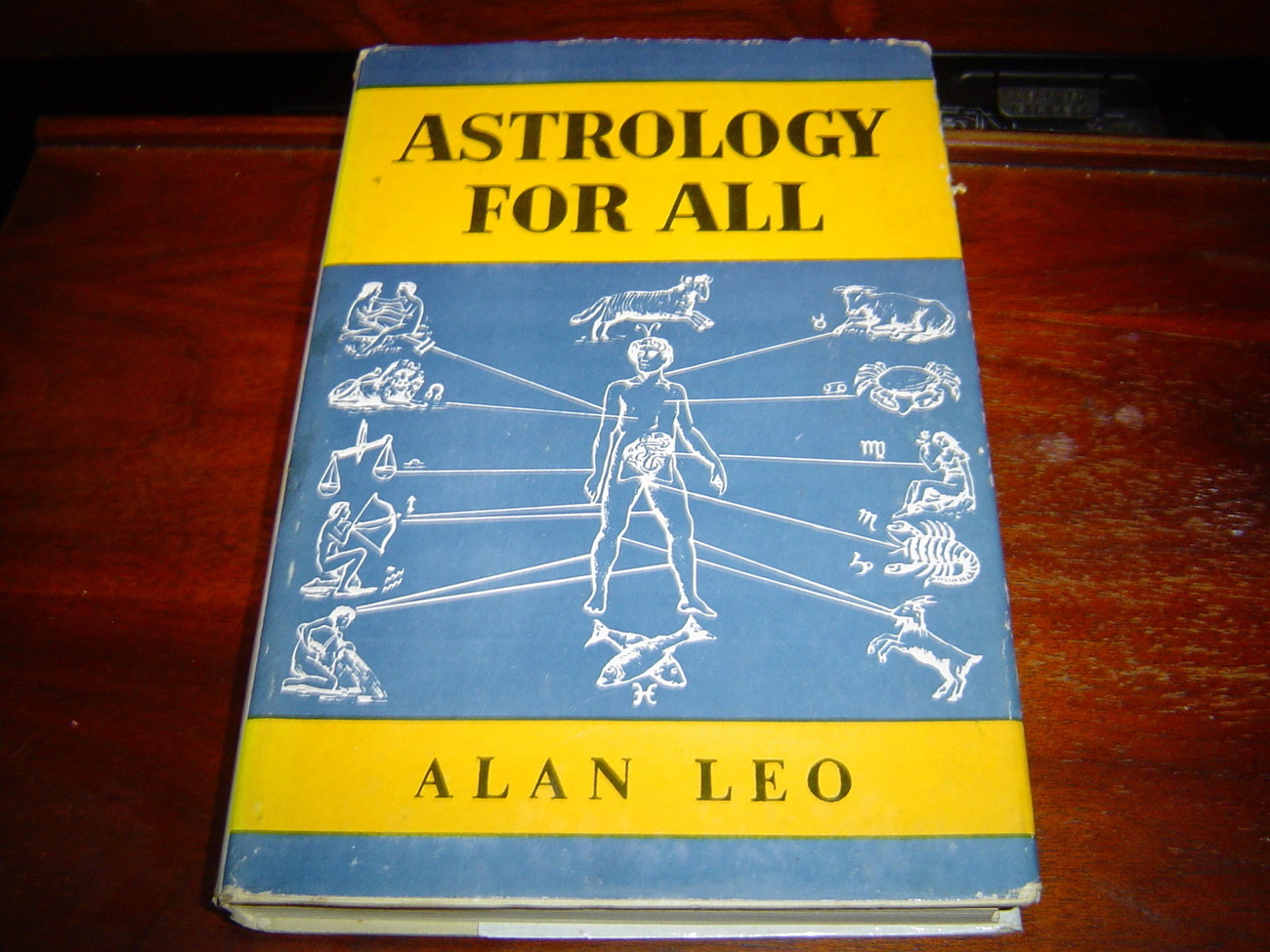 ASTROLOGY FOR ALL by Alan Leo (1964) HARDCOVER