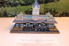 DANBURY MINT- HISTORIC RAILROAD STATIONS- SAN DIEGO STATION - BOXED- W62 - $39.41