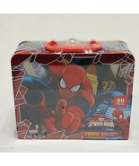 Marvel Ultimate Spider-Man 48 Pieces Puzzle In Tin Lunch Box - $14.84