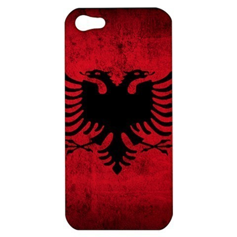Primary image for NEW iPhone 5 Hard Shell Case Cover Albania Albanian Flag Country Gift 34808276