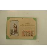 Religioso Calendario, 1942 , Assoc de de San José y Hermanos, Santa Cruz, - $41.27