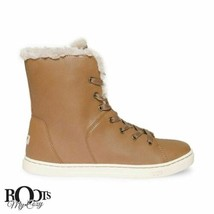 Ugg Croft Luxe Quilt Chestnut Ankle Women's Sneakers Size Us 8.5/UK 7/EU 39.5 - $113.99
