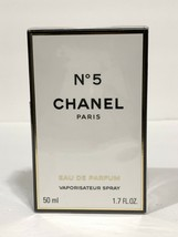 Chanel No 5 Perfume For Women Edt Spray 1.7 Oz 50 Ml New In Sealed Box - $88.73