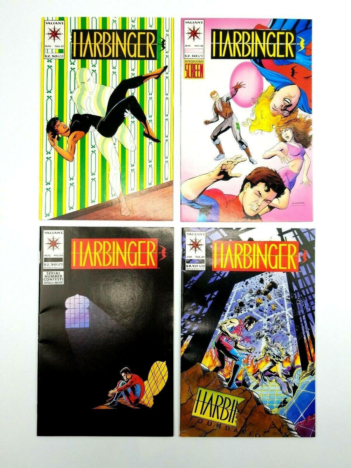 Harbinger 10 16 17 18 20 25 Harbinger Files #1 Valiant Comic Book Lot image 4