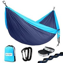 Prodigen Double Parachute Camping Hammock-Outdoor Portable Backpacking H... - $28.97