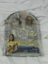 Disney Beauty and the Beast Castle Friends Collection Hasbro Figurines New - $8.91
