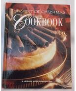 Spirit of Christmas Cookbook 1996 hardcover Leisure Arts holiday recipes... - $11.45