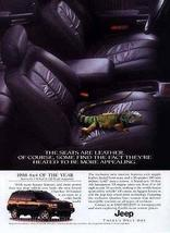 1998 Jeep Cherokee Limited Leather Seats 4x4 of the Year Ad Camilion - $14.99