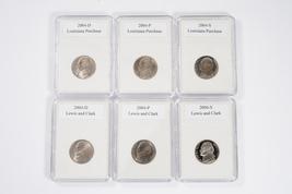 2004 Jefferson Nickels : Peace Medal and Keelboat  Westward Journey Series - $19.95