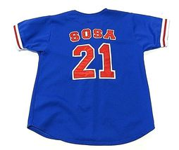 Sport Attack MLB Chicago Cubs Sammy Sosa #21 Baseball Jersey Youth Size Md image 5