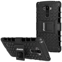 Hybrid Warrior Case for LG G Stylo LS770 - Black/Black  - $8.71
