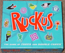 RUCKUS GAME 2005 FUNSTREET GAMES COMPLETE LIGHTLY PLAYED CONDITION - $10.00