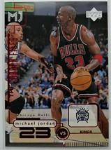 1998-99 MICHAEL JORDAN Upper Deck Basketball Card - $6.00