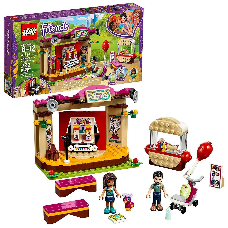 LEGO Friends Andrea's Park Performance 41334 Building Set 229 Piece [New]