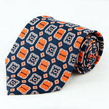 Chicago Bears Mens Silk Necktie NFL Football Team Logo Neck Tie Sports F... - €29,04 EUR