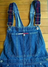 78a902a0 Vtg Tommy Hilfiger Overalls Bibs Spell Out Straps Carpenter Loop Women S...  -