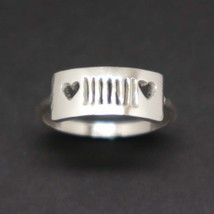 Silver Jeep and Heart Ring - $42.00