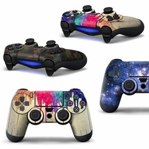 Full Cover Skin Sticker for Sony Playstation 4 Controller Protector Sticker 2019 - $4.99