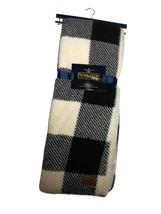 Pendleton Black Plaid Sherpa to Fleece reversible Blanket throw 50 x 70 nwt - $128.37