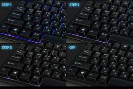 QSENN GP-K5000LED USB Wired Korean English Keyboard for PC image 4